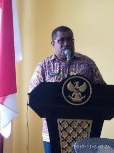 Sambutan Wakil Bupati Kabupaten Kepulauan Aru