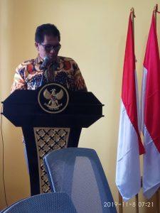 Kepala Bidang Perdagangan Luar Negeri Dinas Perindag Provinsi Maluku, Syarif Hidayat